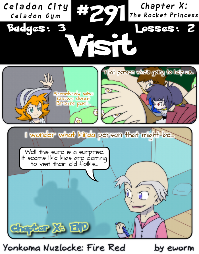 The last time we've ended a chapter on a 3koma instead of a BIG was Chapter II, I was surprised to find.