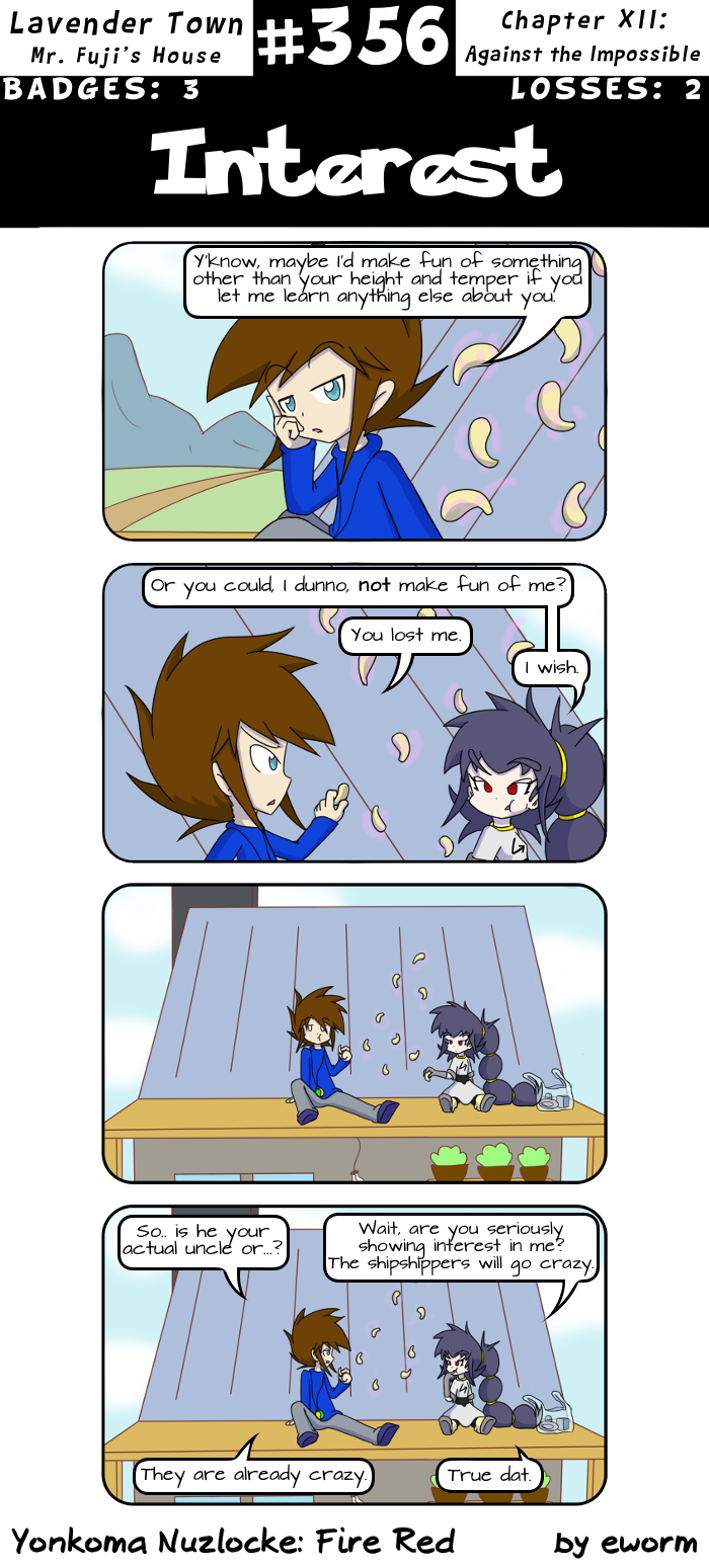 I love the exchange in the second panel.