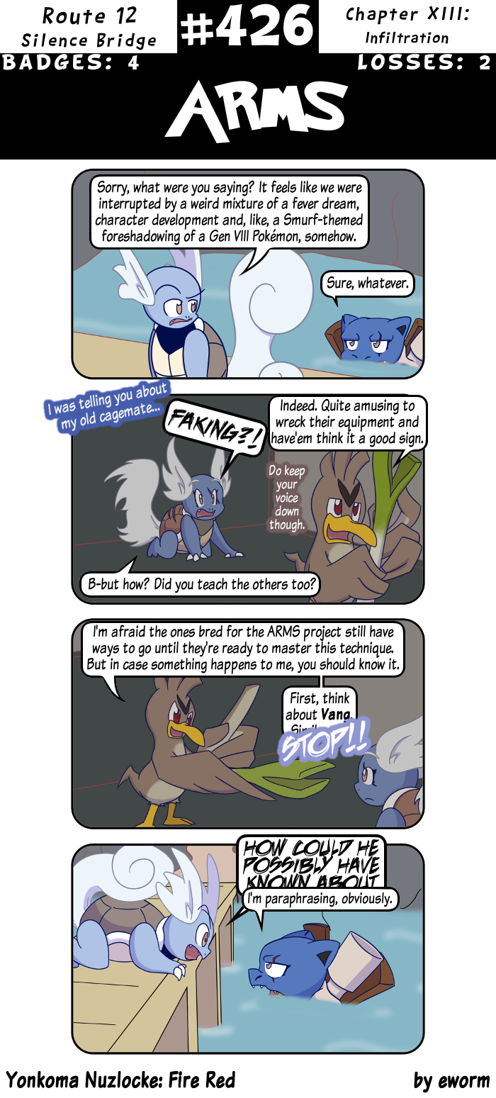 Remember how a Pokémon named Comfey was revealed right before I introduced Comfy the Wigglytuff? Here I am, about to have a little Farfetch'd cameo in my comic, bring some attention to this oft forgotten mon and boom, Game Freak strikes again!